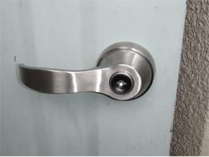 住宅玄関錠のリニューアル
